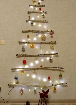 Эко елка декоративная берёза еко ялинка декоративна