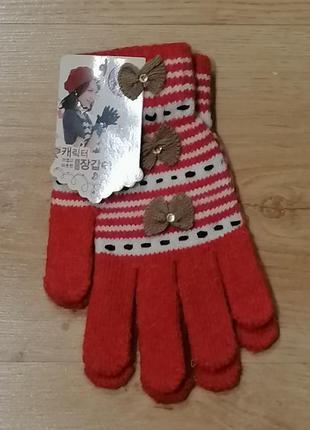 Перчатки для девочки, девушки