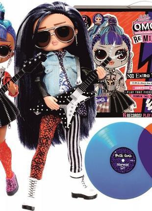 LOL OMG Remix Rocker Boi and Punk Grrrl 2 Pack Куклы roker boy...