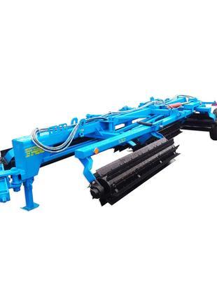 Каток рубящий измельчитель роликовый для подсолнуха КЗК 10 04