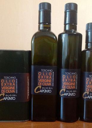 Оливковое масло ЭКСКЛЮЗИВ!Toscano Extra virgin del Capunto.Тос...