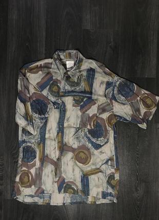 Винтажная рубашка Marks&Spencer