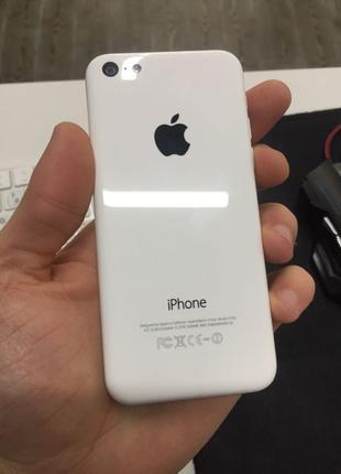 Apple iPhone 5c 16GB White Neverlock купить телефон б/у гарантия