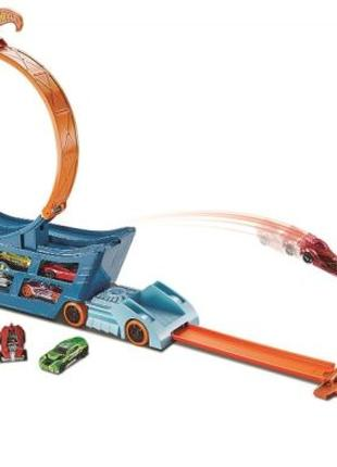 Трек-трансформер Трюки и Гонки Hot Wheels STUNT AND GO TRACK D...