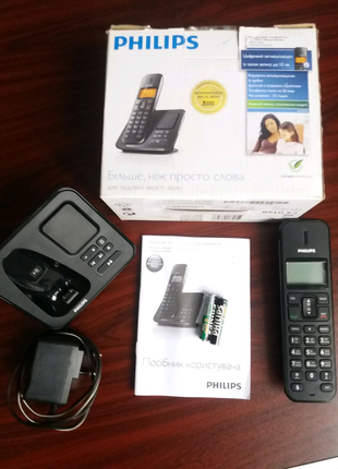 Продам бездротовий телефон Philips SE 175 з автовідповідачем