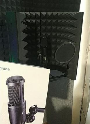 Студийный конденсаторный микрофон АТ2020