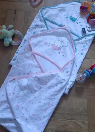 Пелёнка-полотенце с уголком.zeeman