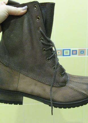Ботинки ASOS 42 кожа