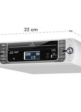 Кухонное радио стерео система (Германия) Auna KR-400 BT,DAB+FM,CD