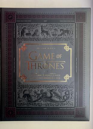 Книга о сериале игра престолов game of thrones hbo