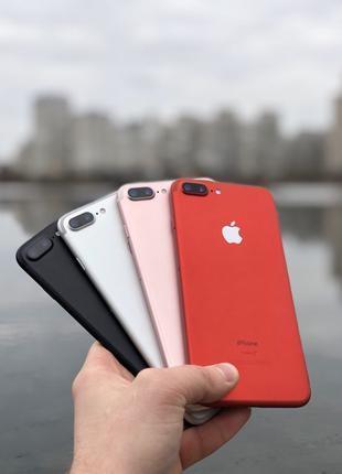 IPhone 7 Plus 32/128/256Gb Neverlock Все цвета Гарантия Рассрочка