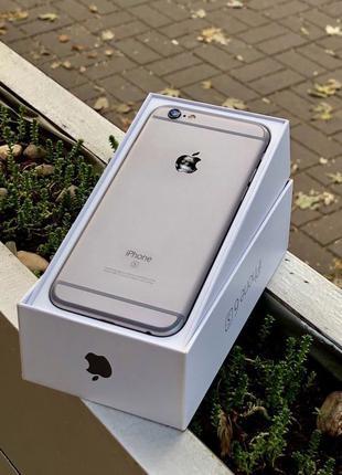 IPhone 6S 32Gb Space Gray Neverlock оригинал, гарантия, магази...