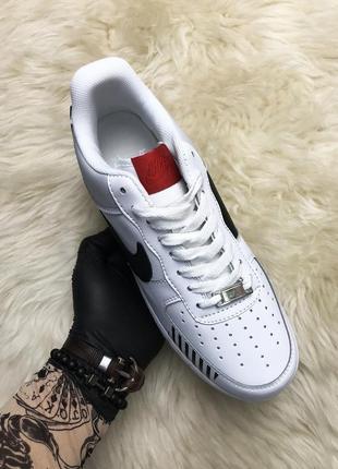 Nike air force low off white. мужские кожаные белые демисезонн...