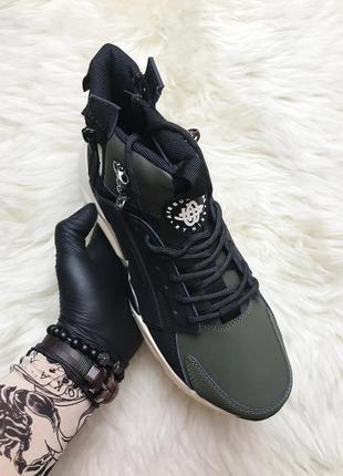 Nike air huarache mid winter (термо). ❄️зимние❄️мужские кроссо...