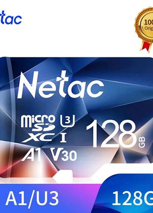 Netac P500 A1,карта памяти 128 ГБ.