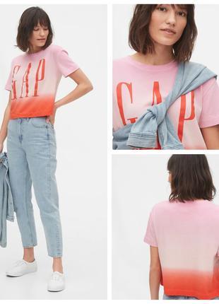 Укороченная футболка женская Оригинал GAP