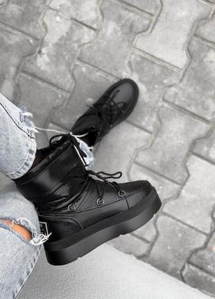 Шикарные угги мунбуты луноходы зимние ботинки сапоги
