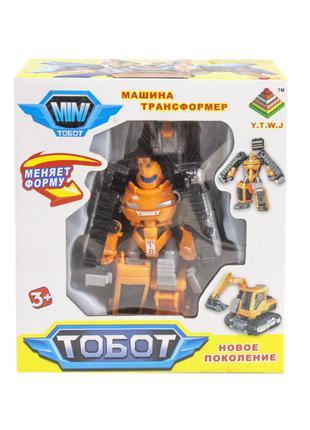 Трансформер Тобот мини экскаватор, tobot mini