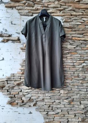 Стильное 💯% вискозное платье 👗 рубашка туника большого размера