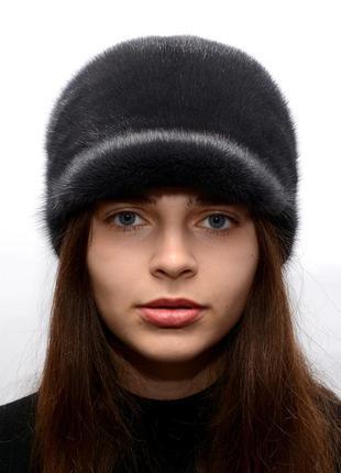 Норковая женская жокейка