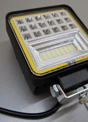 Светодиодная фара LML 4042F D  с жёлтым габаритным светом