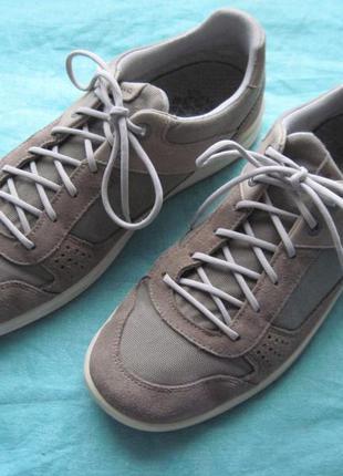Lowa san luis gtx lo (42,5) кожаные мембранные кроссовки мужские