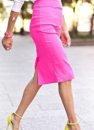 Новая розовая юбка 40 eur размер, наш 46 от s.oliver