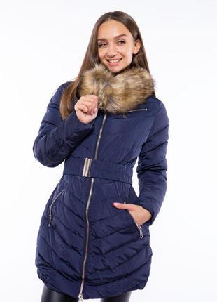 Куртка с поясом 120pskl1512