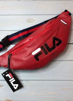 Поясная сумка FILA (сумка на пояс, плечо, бананка, мужская, же...