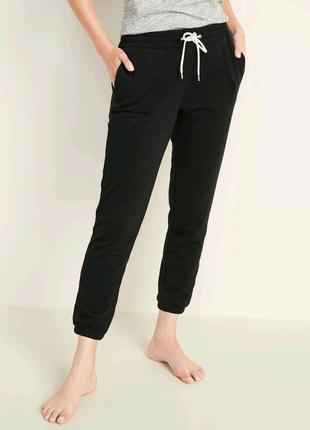 Женские брюки-джоггеры French Terry с отбортовкой по низу