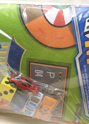 Коврик для игр с авто детям дорога в коробке