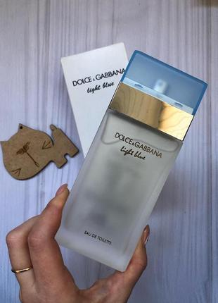 Light blue dolce & gabbana духи парфюм тестер