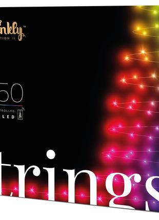 Smart LED Гирлянда Twinkly Strings RGB 250 Gen II (TWS250STP-BEU)