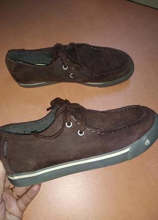 Топсайдеры лоферы кеды туфли  keen