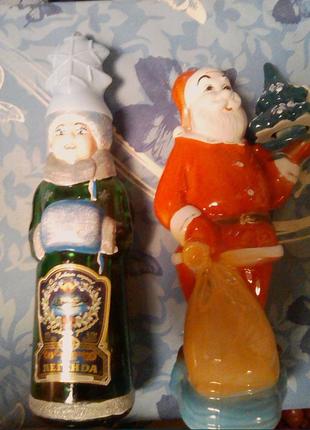 Штоф Дед Мороз и Снегурочка