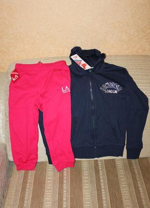 Новый спортивный костюм девочке 7-8 и 9-10 лет от lonsdale