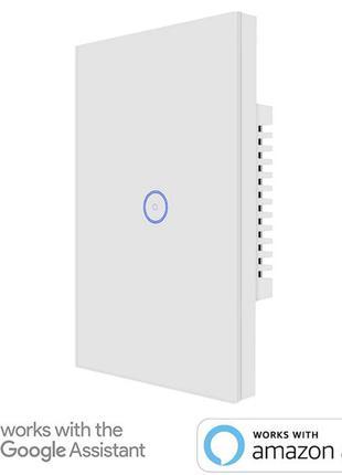 Умный выключатель WI-FI SM-SW102-1 Alexa, Google Assistant