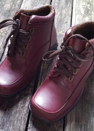 Детские ботинки эко-кожа п23-2