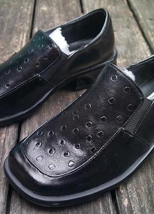 Детские туфли натуральная кожа п18