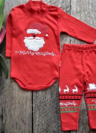 Тёплый новогодний костюм для вашего малыша