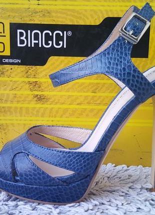 Гламурные туфли босоножки antonio biaggi кожа италия