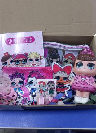 Подарочный box LOL, ЛОЛ ШАР - 250 грн
