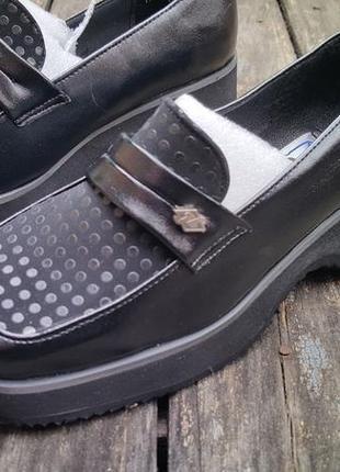 Детские туфли для девочки в школу п21-2