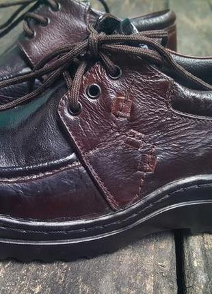 Детские ботинки на шнурках, п27