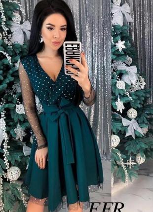 Шикарное платье на новый год