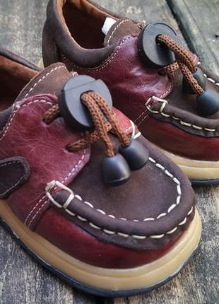 Детская обувь топ-сайдер
