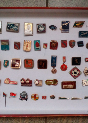 2(фото,описание).ЗНАЧКИ(коллекция).made in USSR.