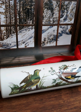 Скалка с птицами Portmeirion винтаж декор