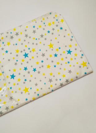 Пеленка непромокайка многоразовая хлопковая пеленка