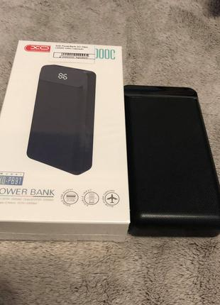 PowerBank XO PB91 (20000 mAh) (черный)